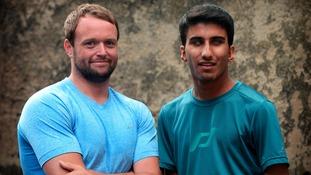 Azeem Amir will take part in Tough Mudder, helped by PE teacher Sam Dainty