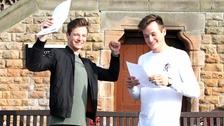 Twins Luke and Kieran Fowler