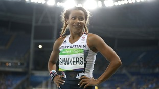 Great Britain's Jazmin Sawyers