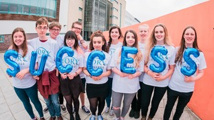 York College celebrated its best ever results