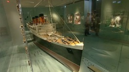 Titanic model, SeaCity Museum  