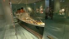Titanic model, SeaCity Museum