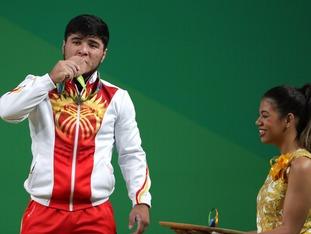Kyrgyzstan weightlifter Izzat Artykov has lost his bronze medal.