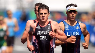 Jonny Brownlee improved on his bronze medal at London 2012.