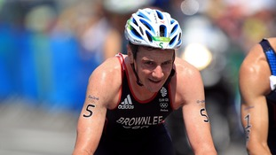 Alistair Brownlee dominantly defended his Olympic title in the heat of Rio.