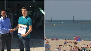 Essex teenager who risked his life to save drowning man given bravery award
