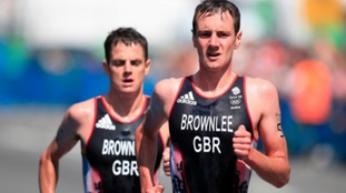Alistair (R) finished 1st ahead of his brother Jonny