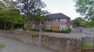Man has jaw broken outside Blackburn school