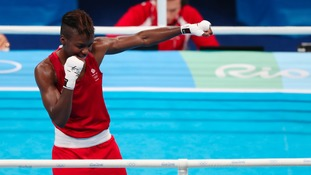 Nicola Adams is through to her second Olympic final
