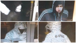 Police release CCTV images following armed robbery