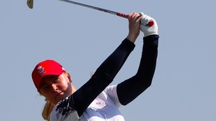 Charley Hull was in superb form in Rio.