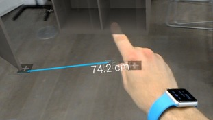The technology could replace the humble tape measure.