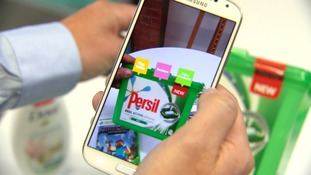 The technology can supply interactive information on major brands.