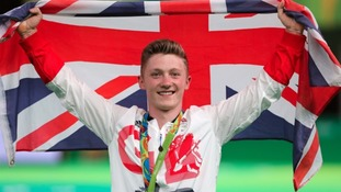 Nile Wilson made history at Rio with a bronze medal