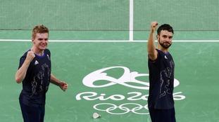 Marcus Ellis and Chris Langridge won Team GB a bronze medal