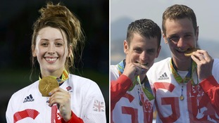 Team GB scoop three golds as medal rush continues