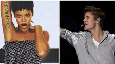 International pop superstars Rihanna and Justin Bieber are taking over the main stages at V Festival