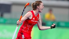 Helen Richardson-Walsh has scored four goals in the tournament so far