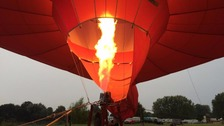 Organisers of Balloon Festival hoping for the weather to improve
