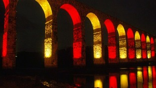 The Royal Border Bridge in Berwick