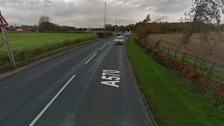 Southport Road (A570) near Hurlstone