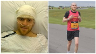 Man from Birmingham who had brain surgery whilst listening to One Direction training for marathon