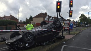 Collision in Coventry