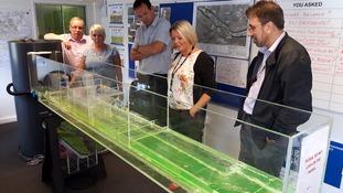 Interactive model set up for flood-hit Mytholmroyd residents