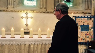 Prayers in memory of the Shoreham victims
