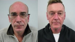 Jailed: Simon Higginson and Lee Wilis