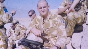Private Lee Ellis, 23, of Wythenshawe, Greater Manchester