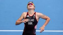 Historic medal in women's triathlon for Leeds athlete