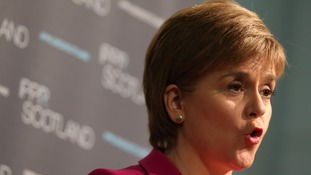 Nicola Sturgeon took to Twitter to express her condolences