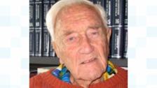 Dr David Goodall is still working at 102
