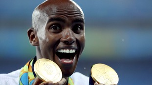 Calls for Mo Farah to be knighted after 'double double' Olympic gold victory