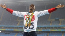 Mo Farah: double Olympic champion once again