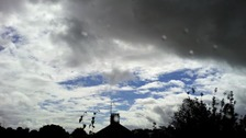 Changeable weather in Rushden
