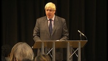 Boris unveils educational plans.