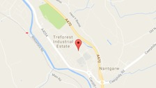 Woman 'seriously injured' in Treforest collision