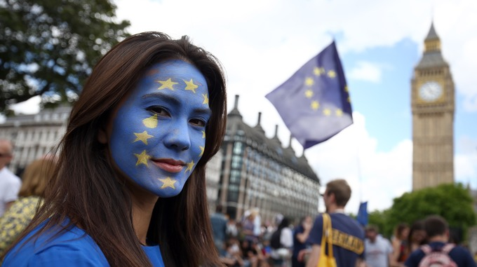 britain people over 80 of british people want eu migrants to remain in the uk