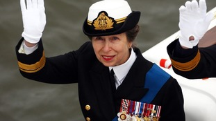 Princess Anne opens Rescue Services headquarters