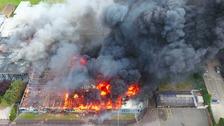 Fire crews battle huge blaze at Selsey school
