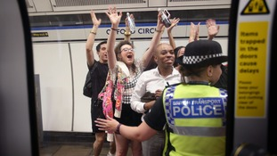There was just one arrest during the first weekend running of the Night Tube