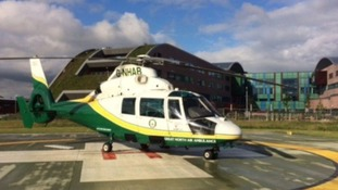 GNAAS library shot of their helicopter