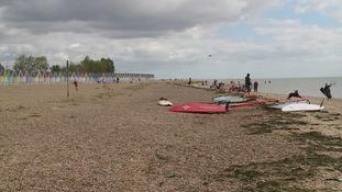 David Baker from Essex was killed off the Essex coast