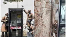 Banksy 'spy booth' mural torn down