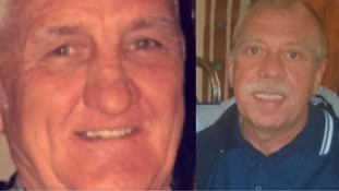 The bodies of Ken Creswell (R) and John Shaw (L) still have not been recovered