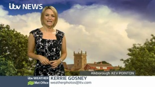 Afternoon weather: Hotting up in the south