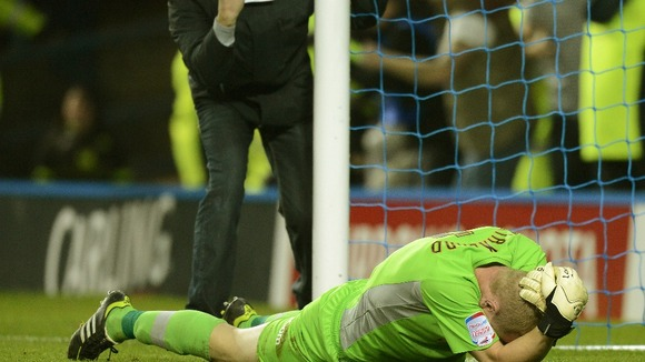 "Sheffield Wednesday boss Dave Jones said Kirkland was ""sore"" after the attack"