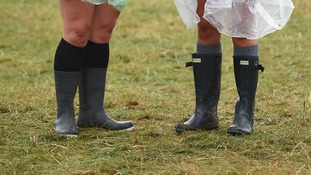 Wellies at V Festival